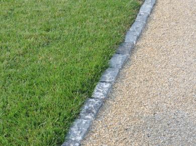 Gravel Drive Granite Set Edging Kent