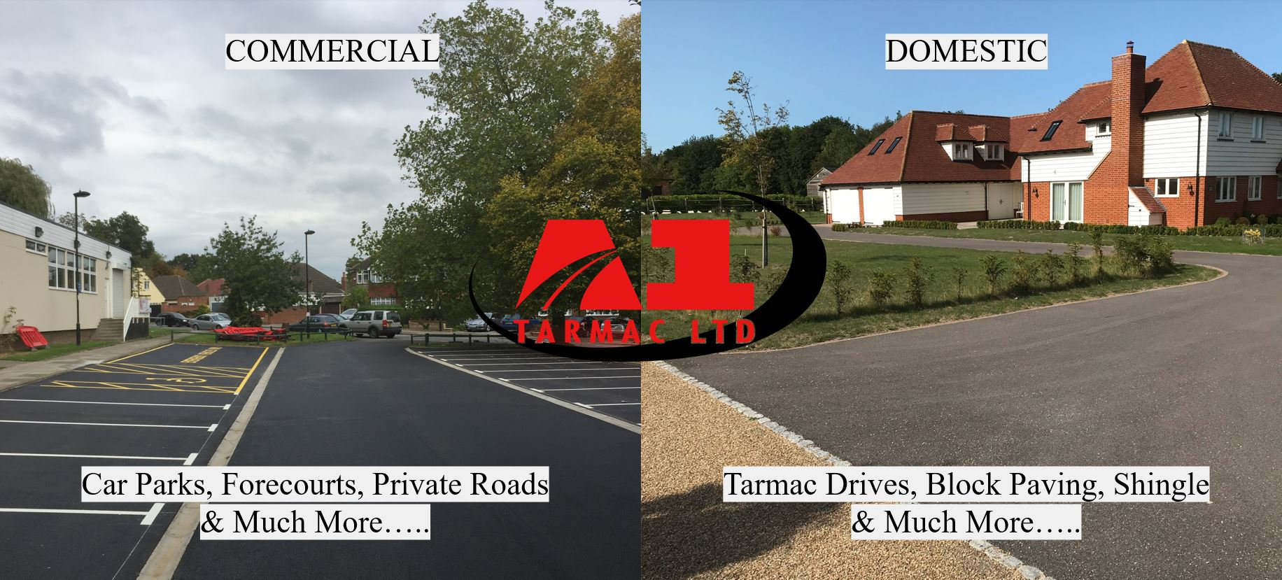 Tarmac Driveway Contractors in Kent, Sittingbourne, Medway, Maidstone